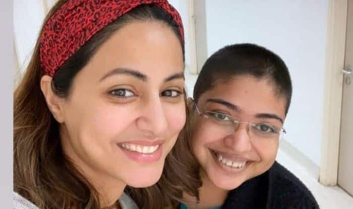 Hina Khan Meets 'Angel' Who Cheered Her up When She Was in Pain; Shares Adorable Picture