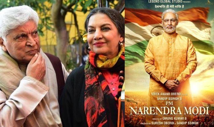 Javed Akhtar-Shabana Azmi-PM Narendra Modi