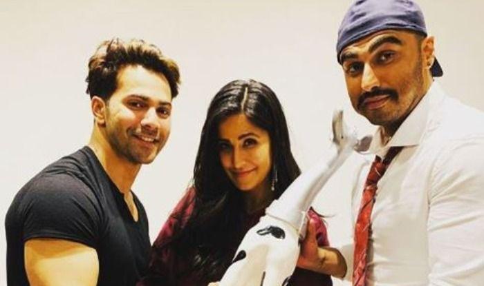 pjimageVarun Dhawan, Arjun Kapoor, Katrina Kaif