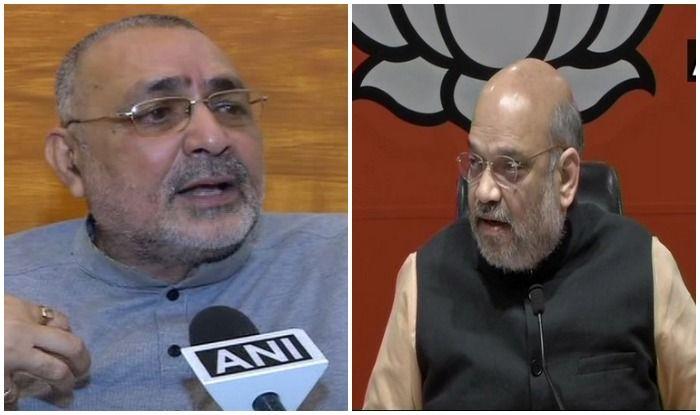 giriraj singh will contest lok sabha election from begusarai, says amit shah: अमित शाह बोले-बेगूसराय से ही लड़ेंगे गिरिराज सिंह, दूर होंगी सभी समस्याएं