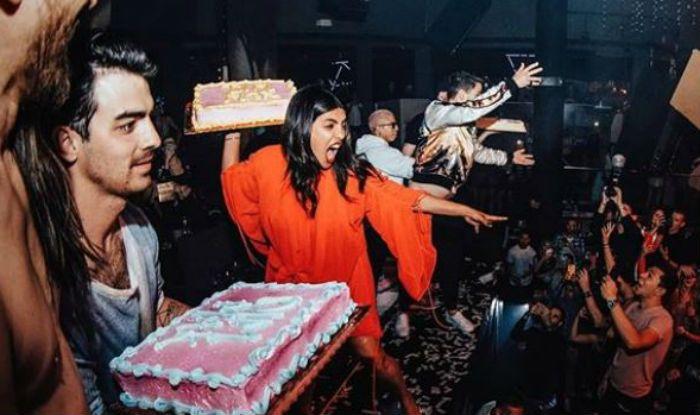 Priyanka Chopra, Nick Jonas And Joe Jonas Throw Cake on Crowd at American Musician Steve Aoki Concert, Watch