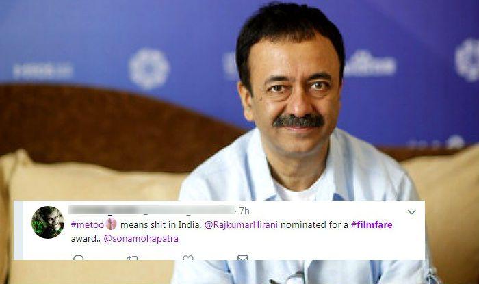Sanju Director Rajkumar Hirani's Filmfare Nomination Despite