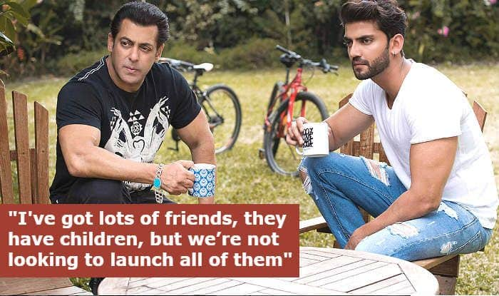 Salman Khan Reveals Why he Launches Friends' Kids in His Films, And How Zaheer Iqbal is Cut to be a Hero