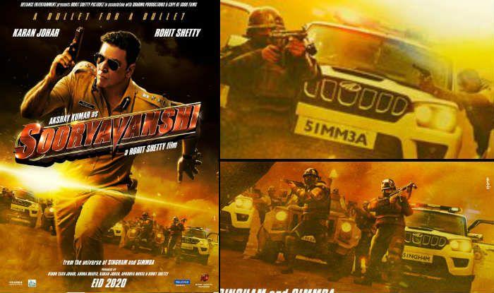 Sooryavanshi Poster Has Ajay Devgn as Singham And Ranveer Singh as Simmba Behind Akshay Kumar, we Are Sure You Missed to Notice This Before