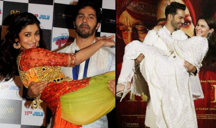 Kalank Teaser Launch Event: Varun Dhawan-Alia Bhatt Revisit 'Humpty Sharma Ki Dulhania' by Recreating Their Iconic Pose