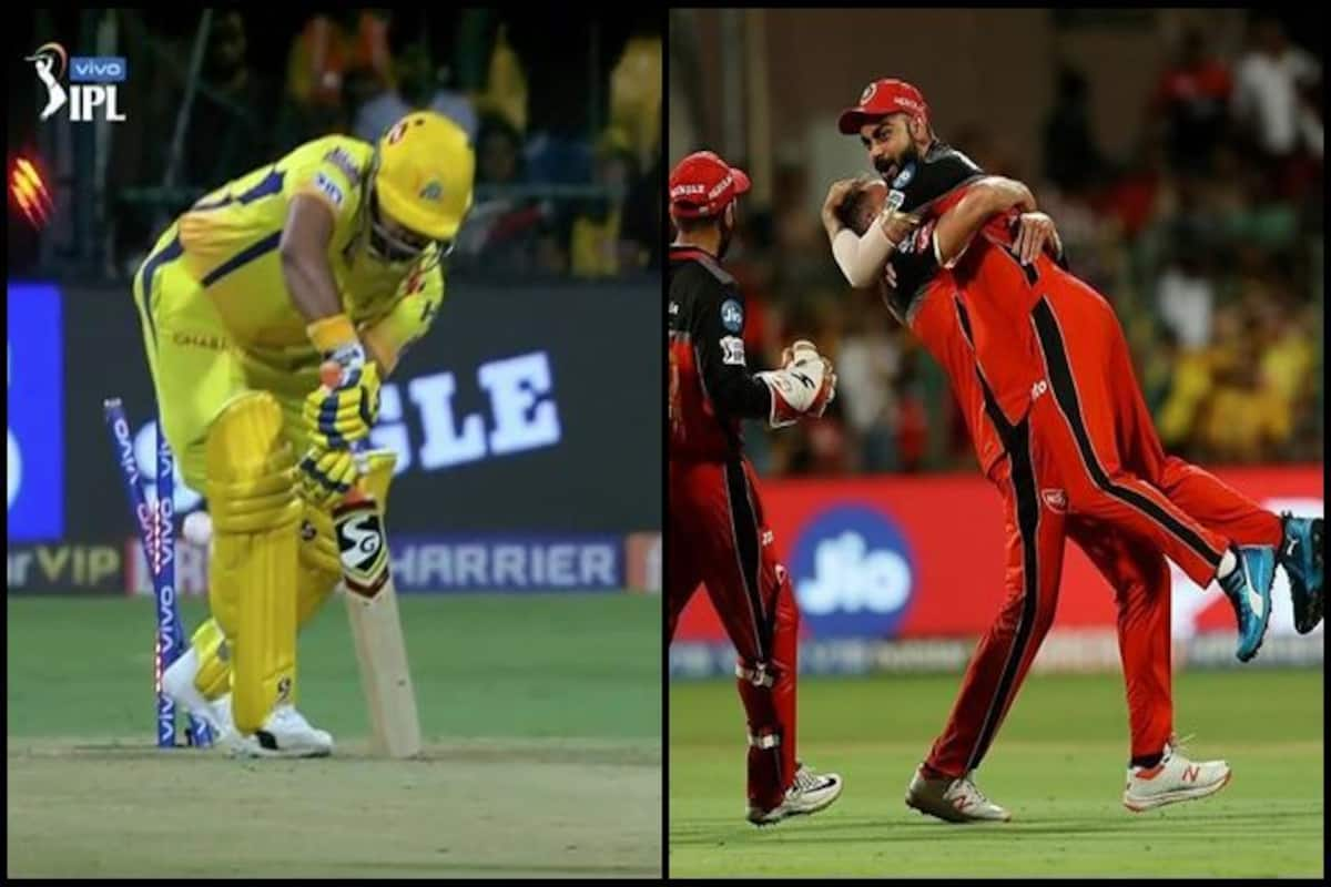 Ipl 2019 Dale Steyn Clean Bowls Suresh Raina During Rcb Vs Csk Virat Kohli S Reaction Is Unmissable Watch Video India Com