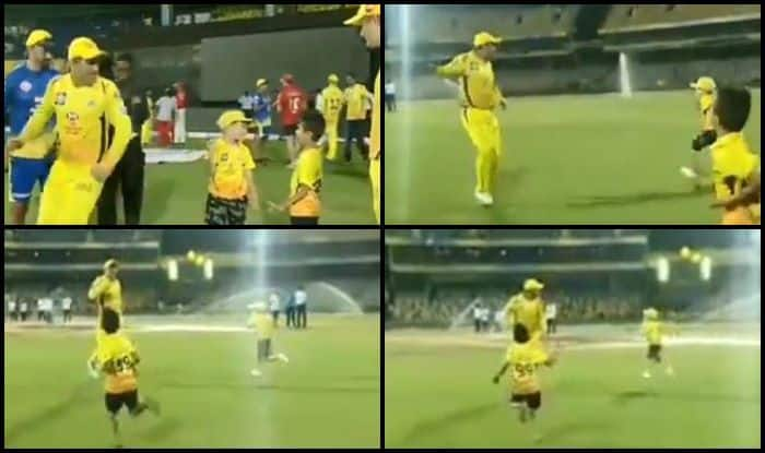MS Dhoni Catch me if You Can