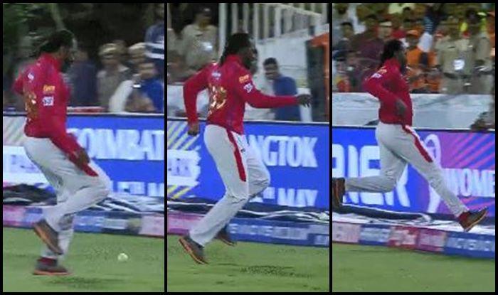 Chris Gayle SRH vs KXIP IPL 2019