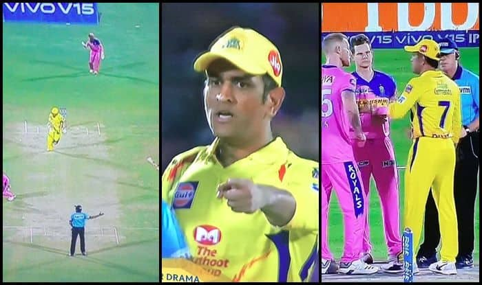 MS Dhoni angry