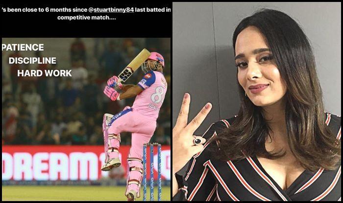 IPL 2019: Mayanti Langer Praises Husband Stuart Binny After 11-Ball 33 Cameo During KXIP v RR | SEE POST