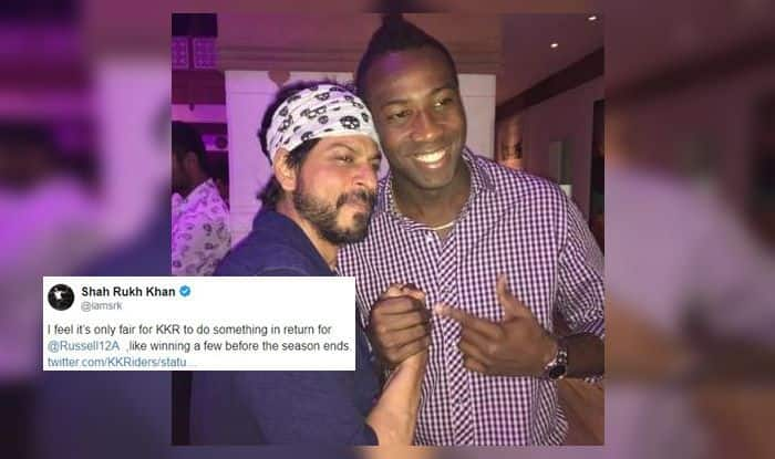 Shah Rukh Khan Andre Russell