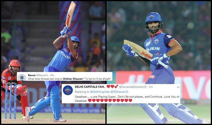Shikhar Dhawan DC vs RCB IPL 2019
