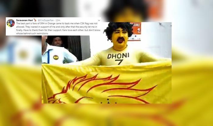 MS Dhoni SRH vs CSK