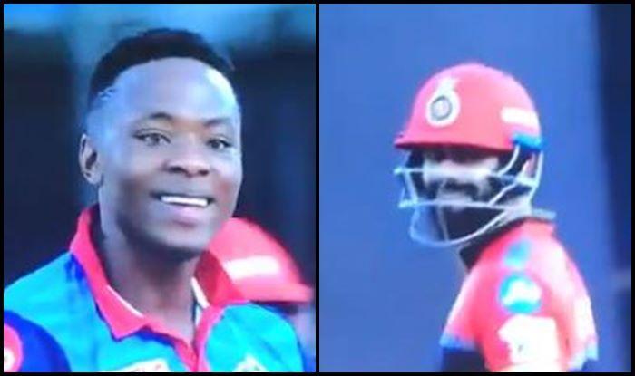 Virat Kohli Kagiso Rabada DC vs RCB IPL 2019