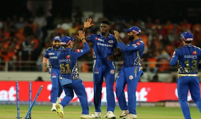 IPL 2019 Match 19 Report: Kieron Pollard, Debutant Alzarri Joseph Star as Mumbai Indians Script Memorable 40-Run Win Over Sunrisers Hyderabad