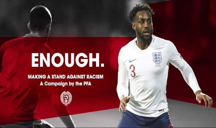 Anti Racism Campaign by PFA_picture credits-PFA official Twitter