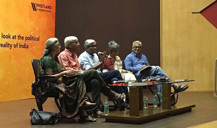 Ashutosh at the release of his book Hindu Rashtra