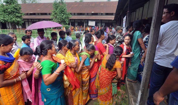 Polling in Assam