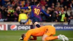 Barcelona's Lionel Messi Sparks Brilliance to Sink Manchester United in Champions League Quarterfinals   Watch Goals