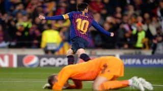 Barcelona's Lionel Messi Sparks Brilliance to Sink Manchester United in Champions League Quarterfinals | Watch Goals