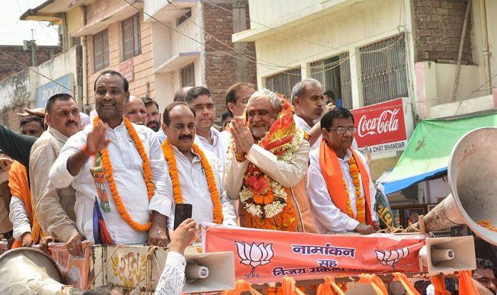 BJP's Buxar candidate Ashwini Kumar Chaubey