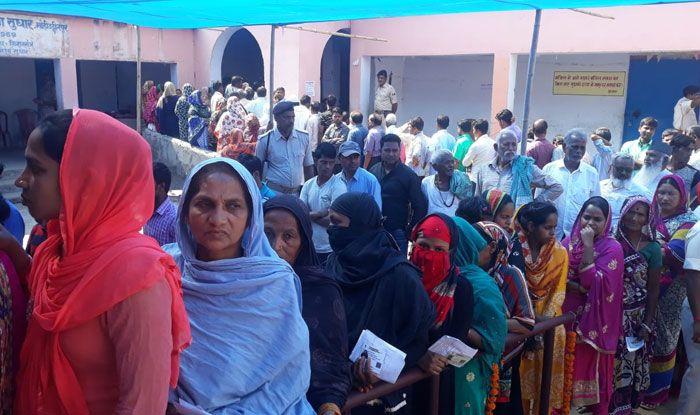 Polling in Bihar