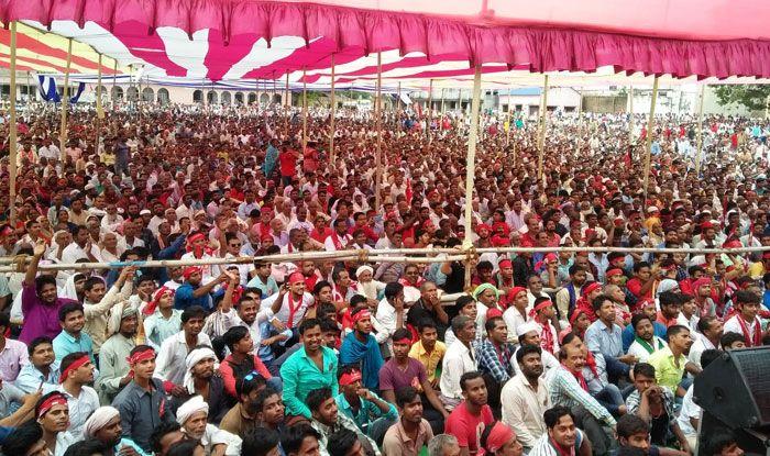 Election rally at Bihar's Begusarai