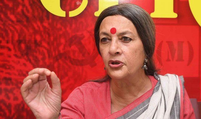 CPI(M) leader Brinda Karat