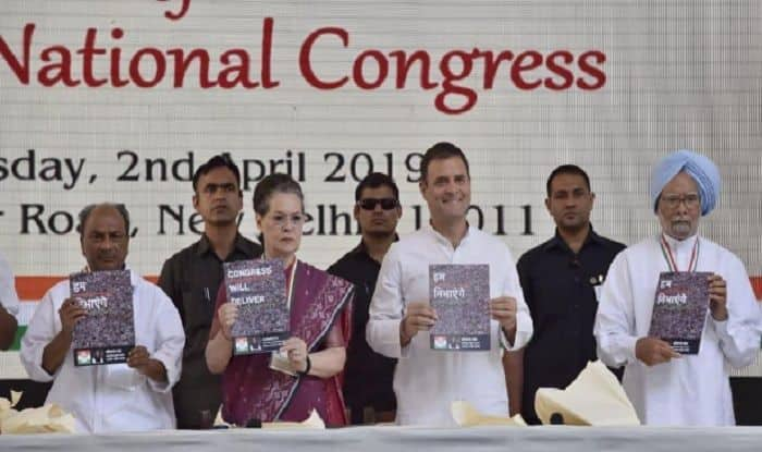 Congress Releases Manifesto For Lok Sabha Polls With Slew of Promises; BJP Calls it 'Unimplementable, Positively Dangerous'