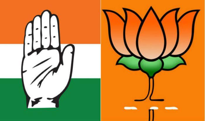 Congress and BJP symbols
