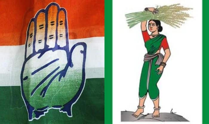 Congress and JDS symbols