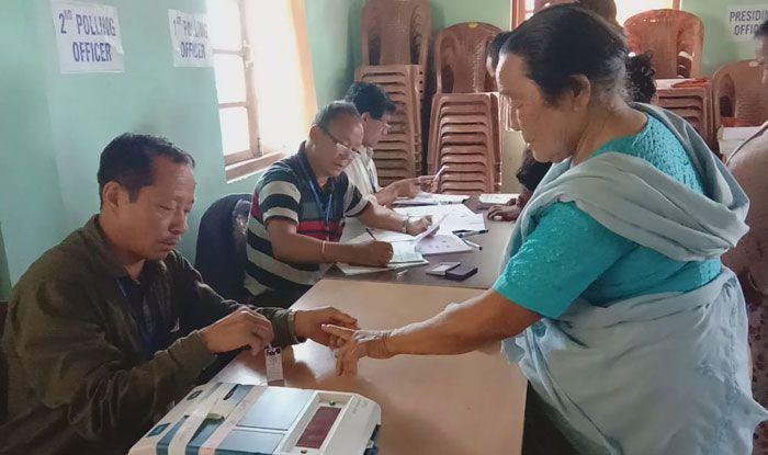 Polling in Darjeeling