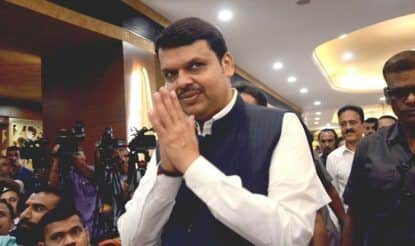 Maharashtra Assembly Election 2019: CM Fadnavis Holds Roadshow in Nagpur on Last Day of Campaigning