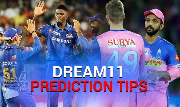 IPL 2019, MI vs RR, Dream XI Predictions, Today Match Predictions,Today Match Tips, Today Match Playing xi, MI playing xi, RR playing xi, dream 11 guru tips, Dream XI Predictions for today match, ipl MI vs RR match Predictions, online cricket betting tips, cricket tips online, dream 11 team, my team 11, dream11 tips, Indian Premier League