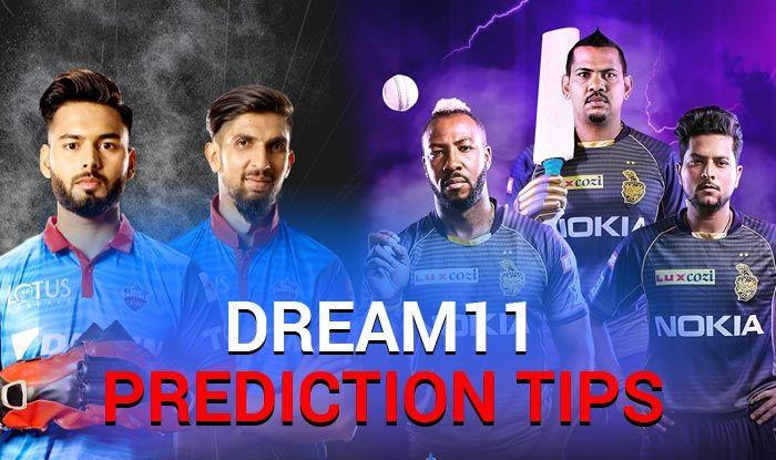 IPL 2019, KKR vs DC, Dream XI Predictions, Today Match Predictions,Today Match Tips, Today Match Playing xi, KKR playing xi, DC playing xi, dream 11 guru tips, Dream XI Predictions for today match, ipl KKR vs DC match Predictions, online cricket betting tips, cricket tips online, dream 11 team, my team 11, dream11 tips, Indian Premier League
