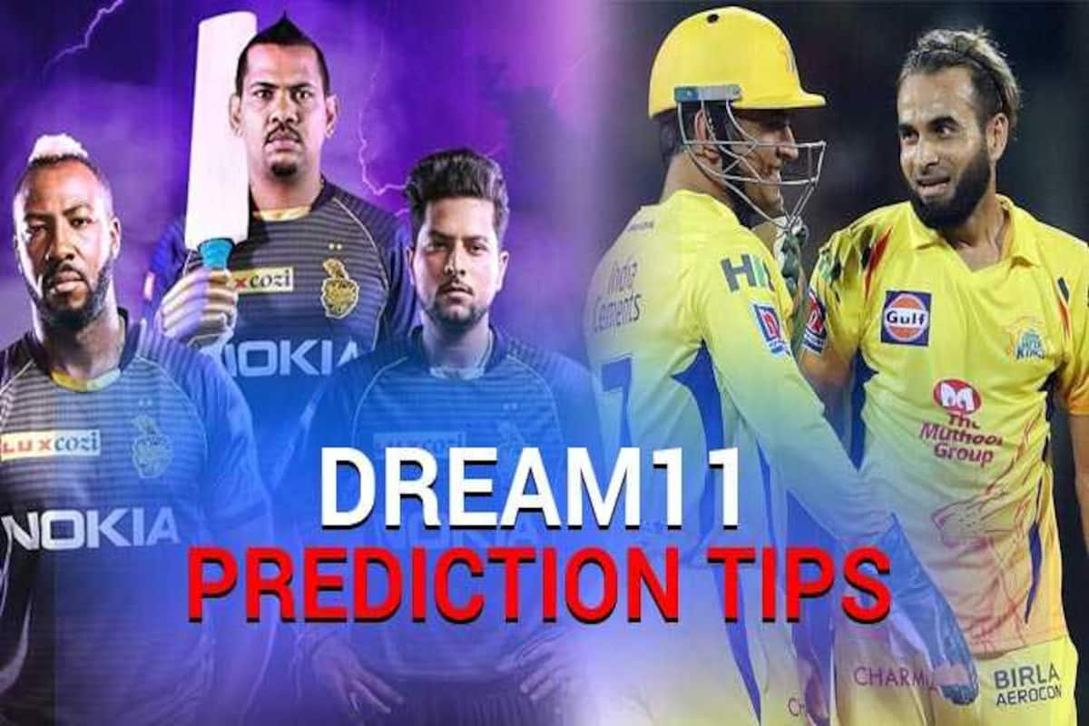 KKR vs. CSK Dream11 IPL 2020