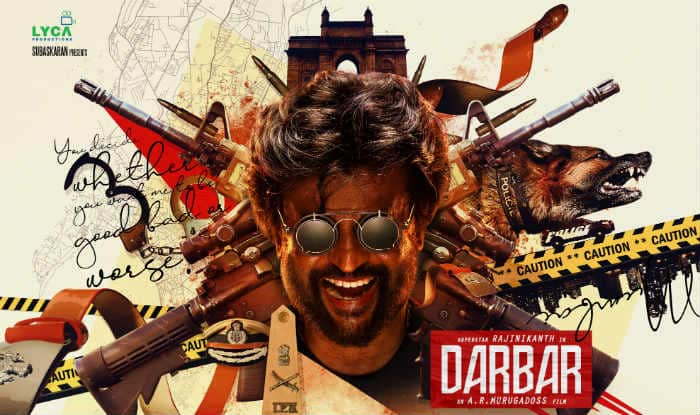 Darbar first poster