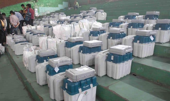Electronic Voting Machines in Telangana