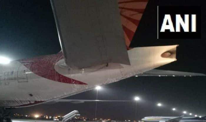 Air India Flight Catches Fire During AC Repair Work at Delhi Airport