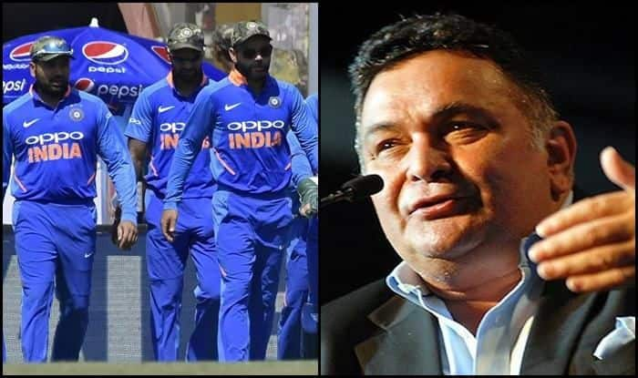 Indian cricket team squad's look questioned by Rishi Kapoor