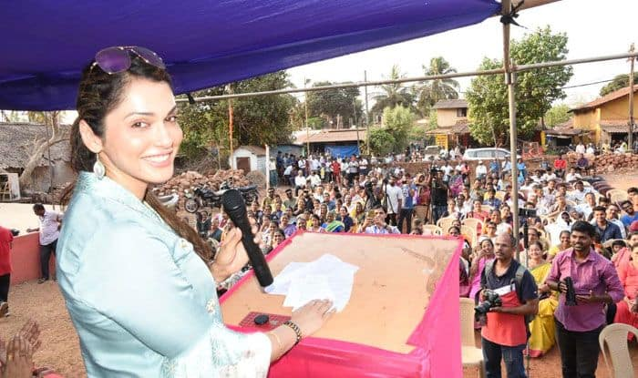 Actress Isha Koppikar in Goa