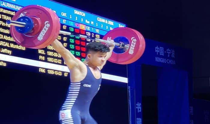Jeremy Lalrinnunga, Youth World Record, Asian Weightlifting Championship, Weightlifting
