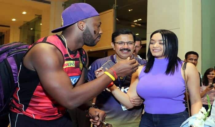 KKR's Andre Russel_picture credits-twitter