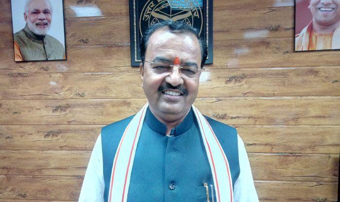 BJP leader Keshav Prasad Maurya