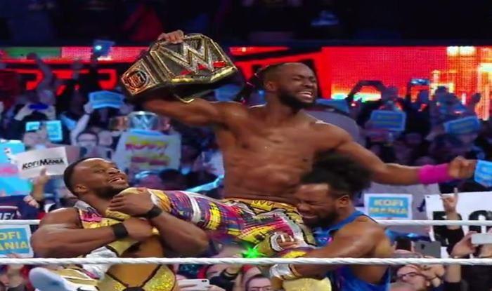 Kofi Kingston wins WWE title_picture credits-twitter