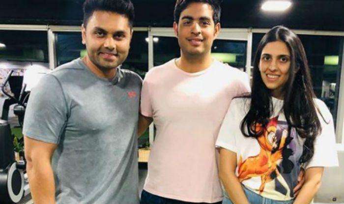 Kunal Gir shares picture with Akash and Shloka Ambani