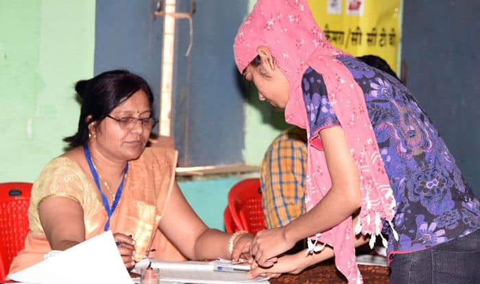 Polling in Madhya Pradesh