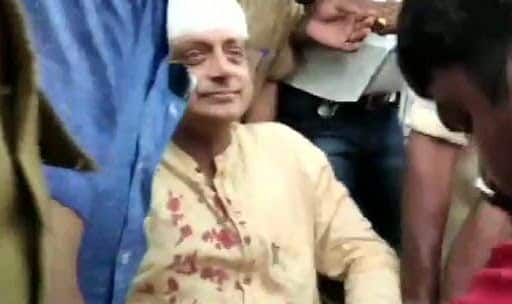 Shashi Tharoor Suffers Head Injury While Offering Prayers at Temple in Thiruvananthapuram
