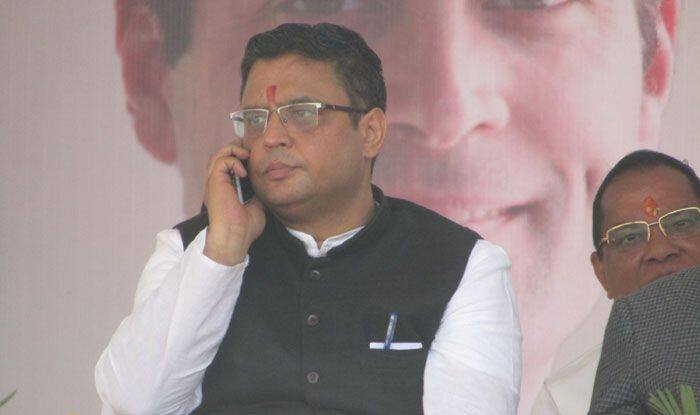 Congress leader Manish Khanduri