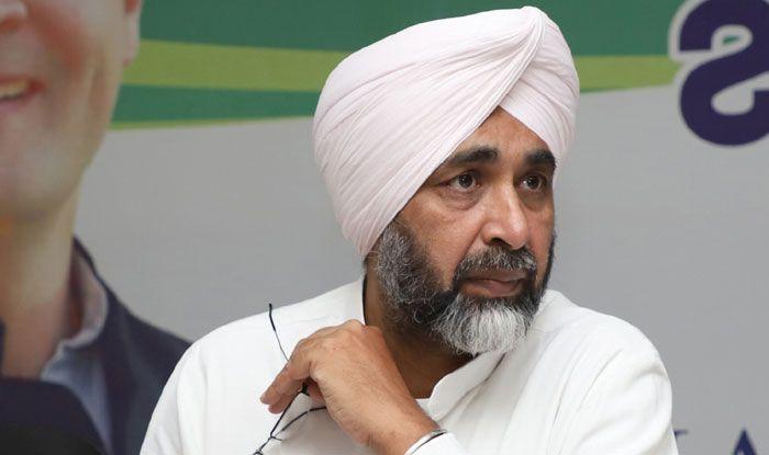 Congress leader Manpreet Singh Badal